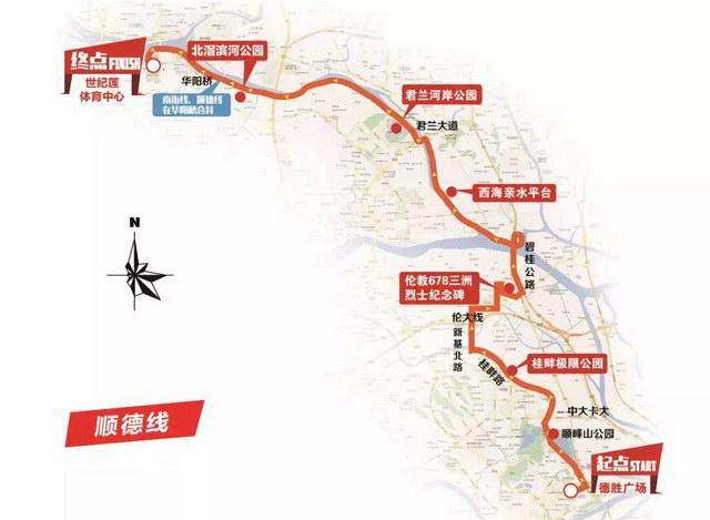 顺德线42km