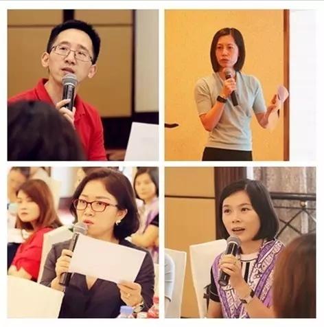 各岗位代表也在课上进行积极探讨及论述
