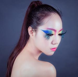 化妆造型作品欣赏