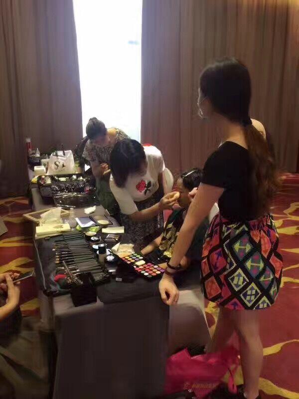 为广州微明影业集团指定化妆机构化妆