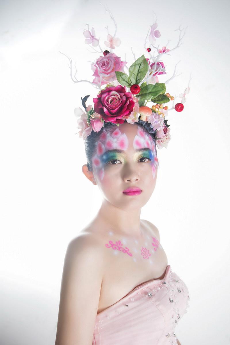 化妆师蔡媚媚新娘妆作品