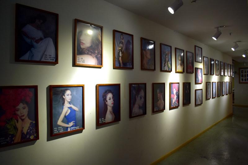 学员作品-墙上展示