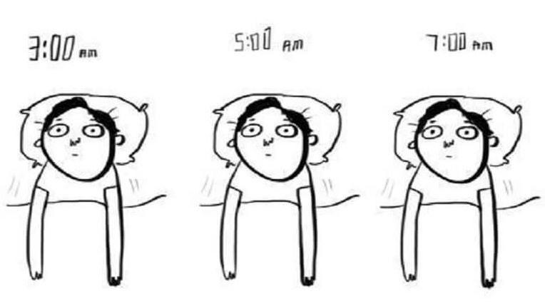 熬夜晚睡的坏处:皮肤受损、记忆力减退、免疫力降低