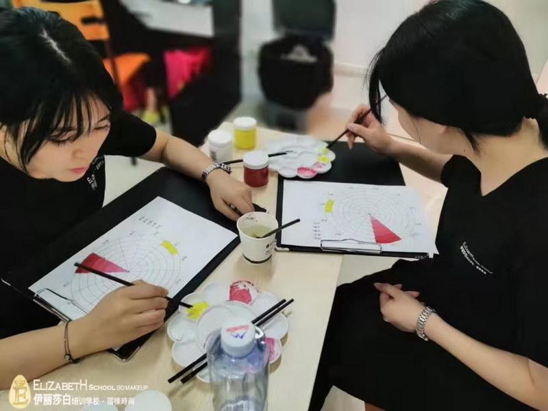 化妆师如何正确认识和运用色彩认识