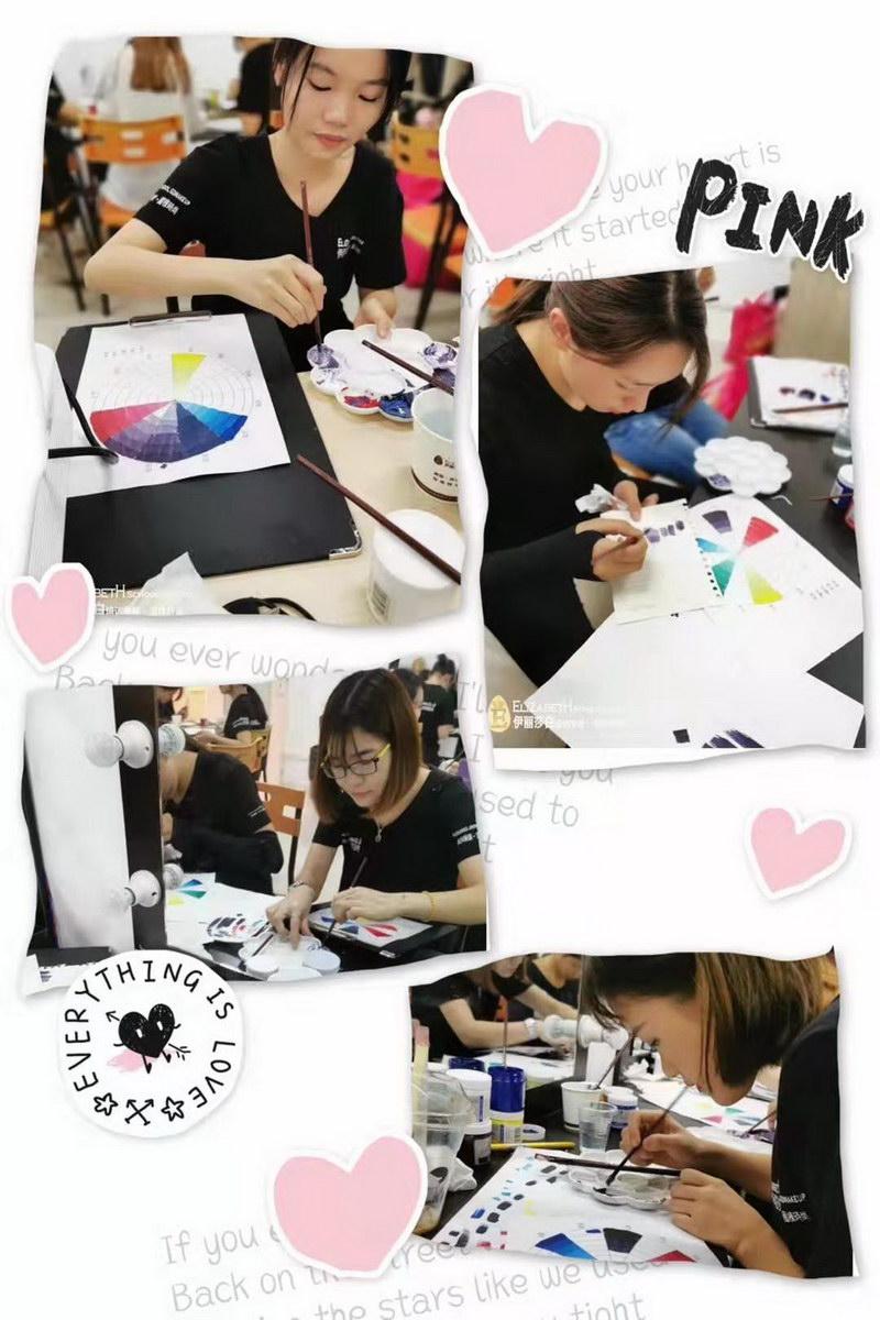 理解色彩的原理和规律,训练对色彩的搭配组合能力
