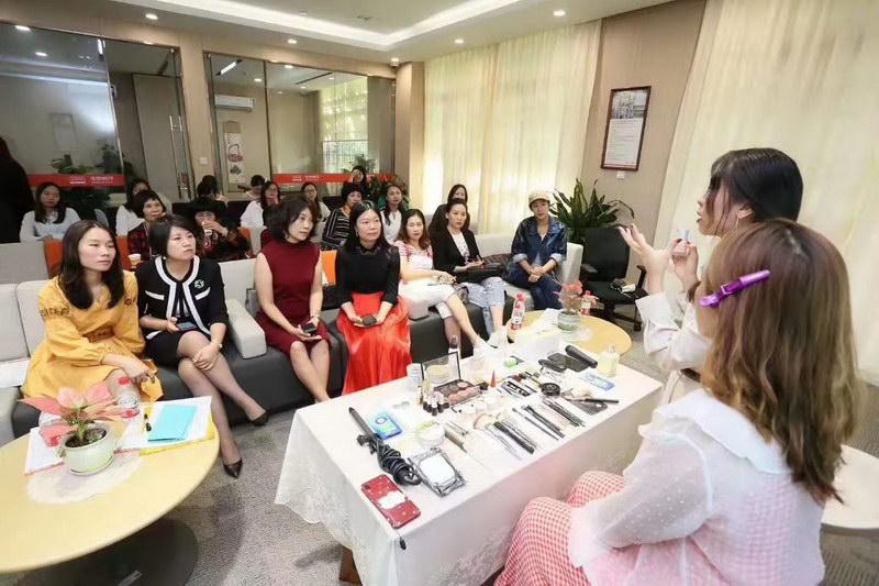 伊丽莎白学校携手平安银行举办美妆分享沙龙